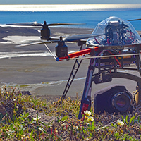 10. Drone to map arctic tundra (photo-copyright: Normand-Treier)