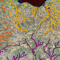 59. Modelled streams using UAS-based surface model (detail from Fig. 2)